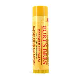 小蜜蜂蜜蠟潤唇膏 Burt's Bees Beeswax Lip Balm With Vitamin E & Peppermint