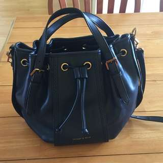 (RESERVED) Charles & Keith Bucket Bag