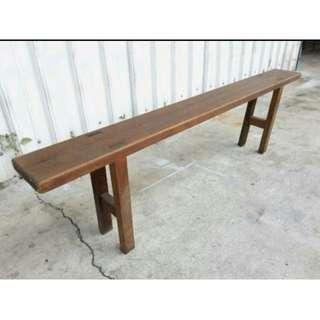 老椅凳-長椅-木頭-懷舊-老椅