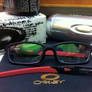 oakley crosslink detachable temple