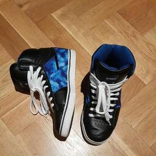 ELEMENT Tie Dye Print Skate Sneakers US 5
