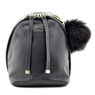 Furla Spy Bag Onyx Black Mini Backpack
