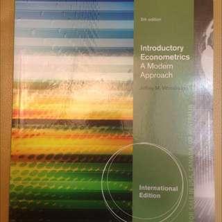 Introductory Econometrics A Modern Approach 計量經濟學