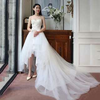 Long short Gown For Sale