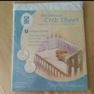 Baby Cot Waterproof Cover (Suits Single Size Mattress As Well)
