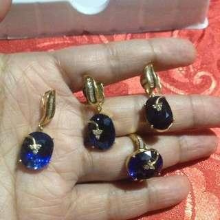 Blue Sapphire Set