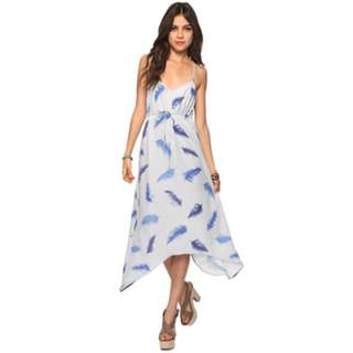 Forever21 X Rory Beca Feather maxi dress
