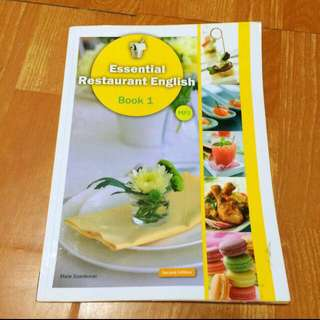 Essential Restaurant English Book 1【Second Edition】(16K +1MP3)(With No Answer Key/無附解答)