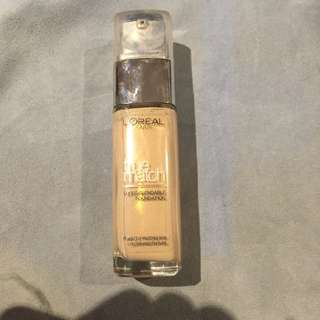 Lo'real True Match Foundation Ivory