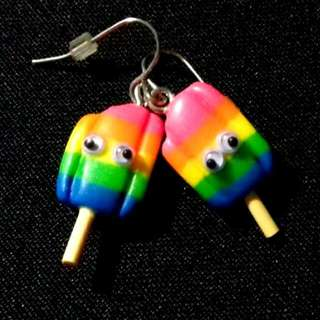 Ice Pop RAINBOW Earrings