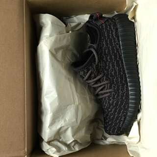 Yeezy Boost Infant Pirate Black