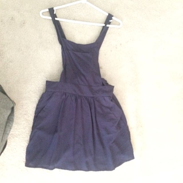 2 Strap Overall Dress