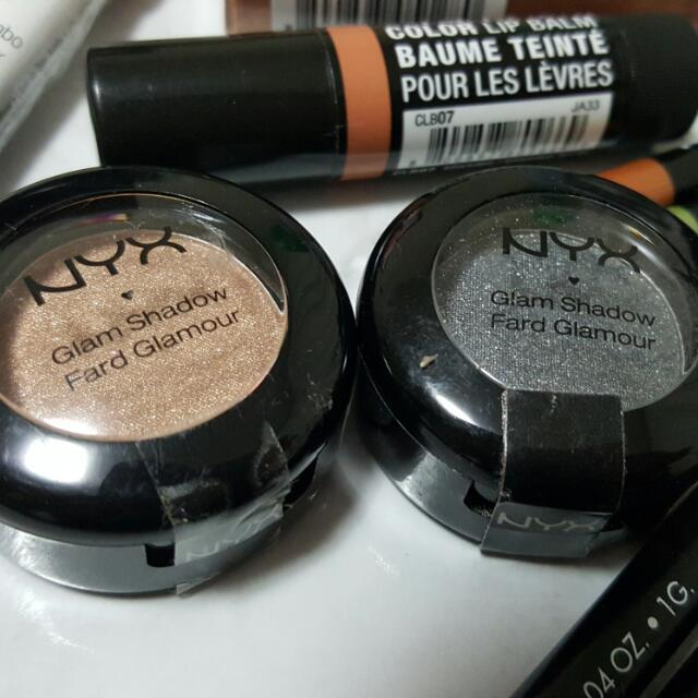 2x New Nyx Glam Shadow