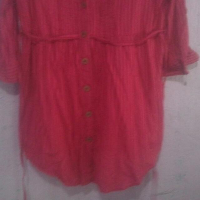 3/4th polo blouse