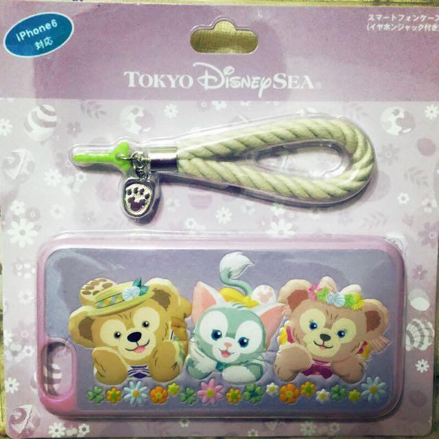 東京迪士尼帶回 // IPhone6/6s達菲Duffy野餐趣手機殼(全新)