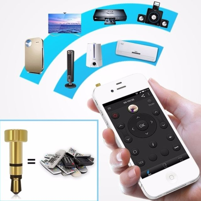 ★★ LATEST VERSION ★★ Mini Pocket SMART IR Universal Remote Control For iPhone/iPad/Touch ★★ Air Conditioner / TV / DVD Player / Projector etc. ★★