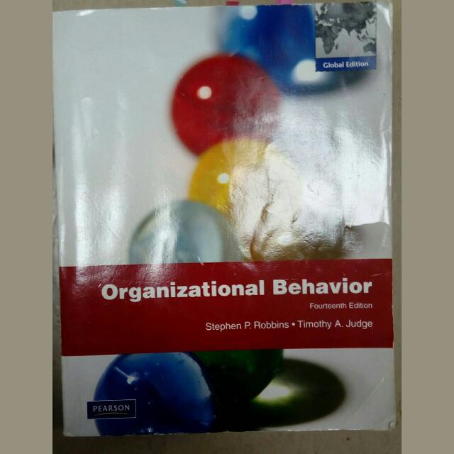 組織行為 Organizational Behavior