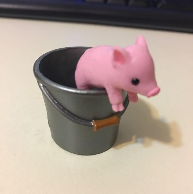 扭蛋 豬豬
