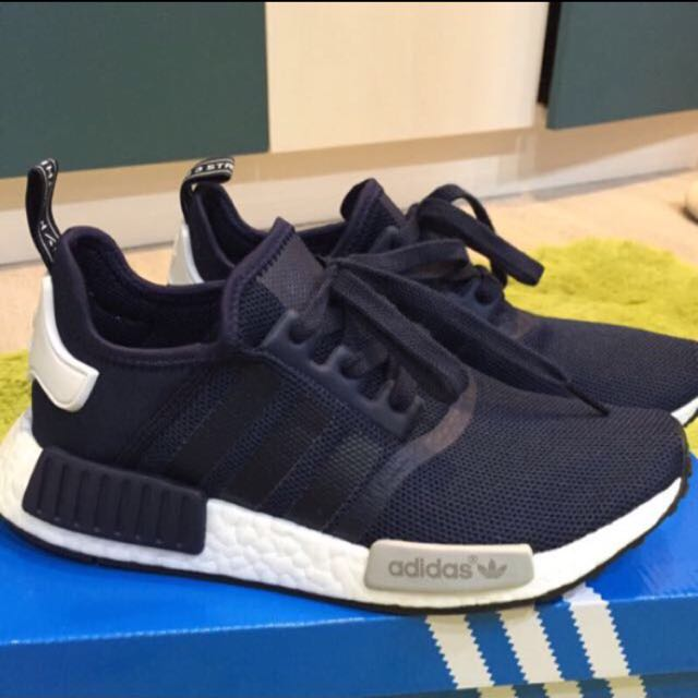 Adidas Original NMD Runner Navy 深藍白 海軍藍 黑灰白