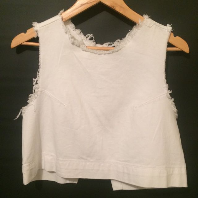 All About Eve White Top