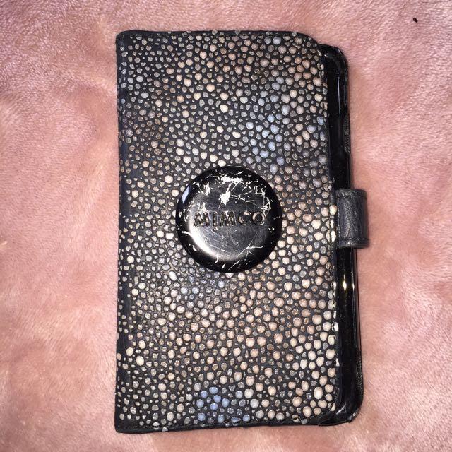 Authentic Mimco Iphone 5 Case