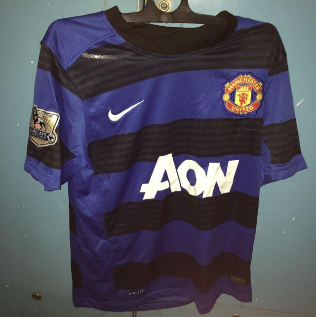 Baju Manchester United Blue