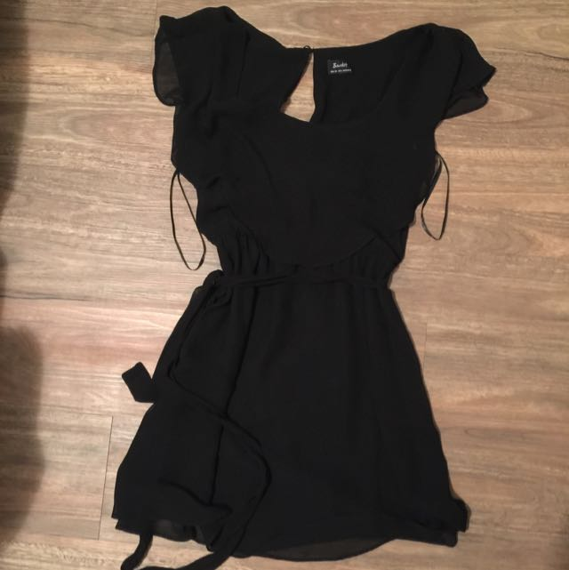 Bardot Black Dress Size 10