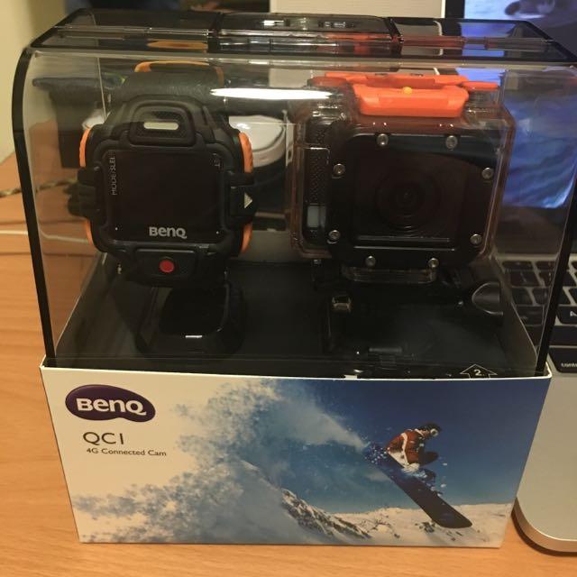 BenQ QC1 4G LIVE運動攝影機