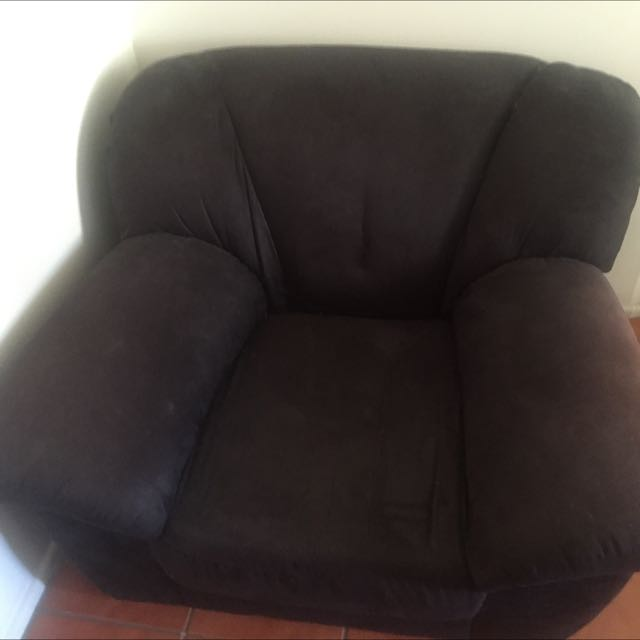 Black Armchair $20
