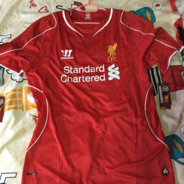 quality design 08336 d594e Brand New Liverpool Home And Away Jersey, Men's Fashion ...