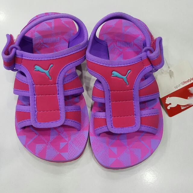 Brand New Puma Sandals Slippers Infant
