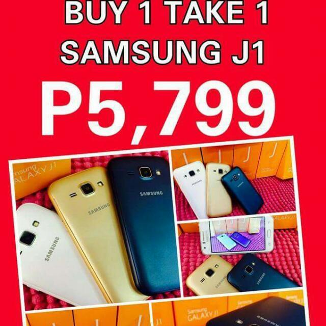 Buy 1 Take 1 (Samsung J1)