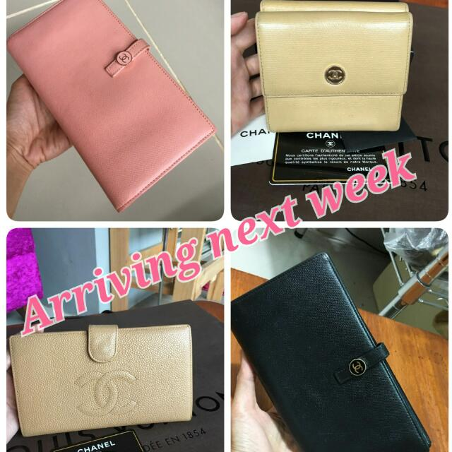 Used  Authentic Chanel Wallets