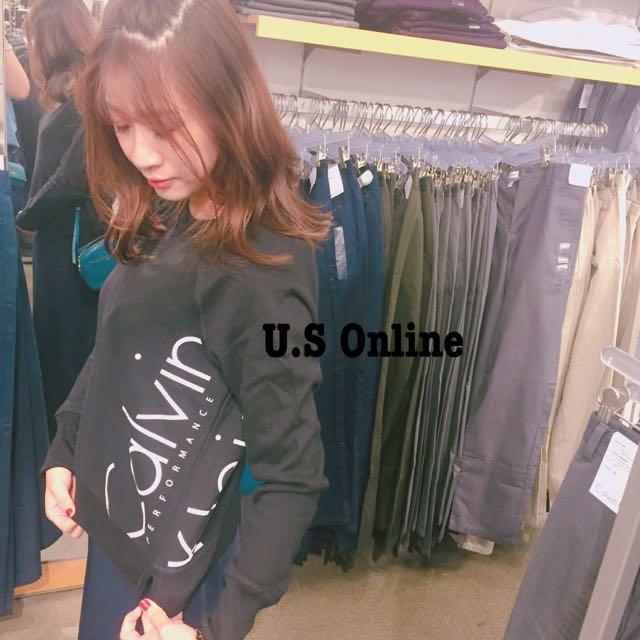 Ck短版衛衣(代購)
