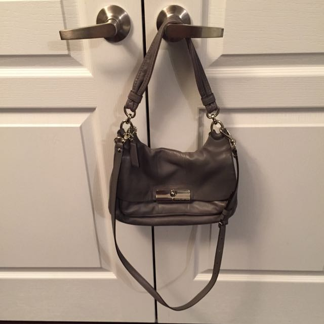 Coach Grey Purse