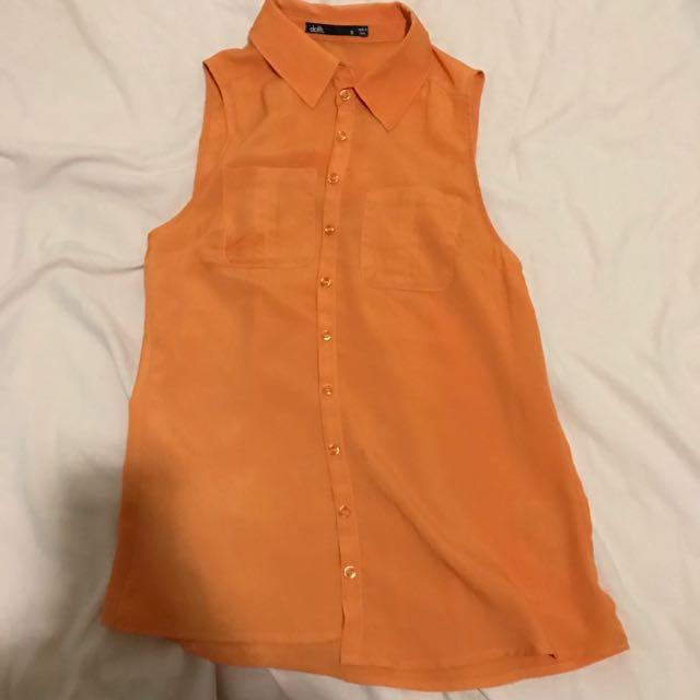 Dotti Orange Shirt 8