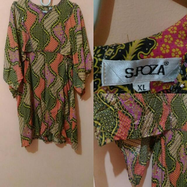Dress Batik Pendek