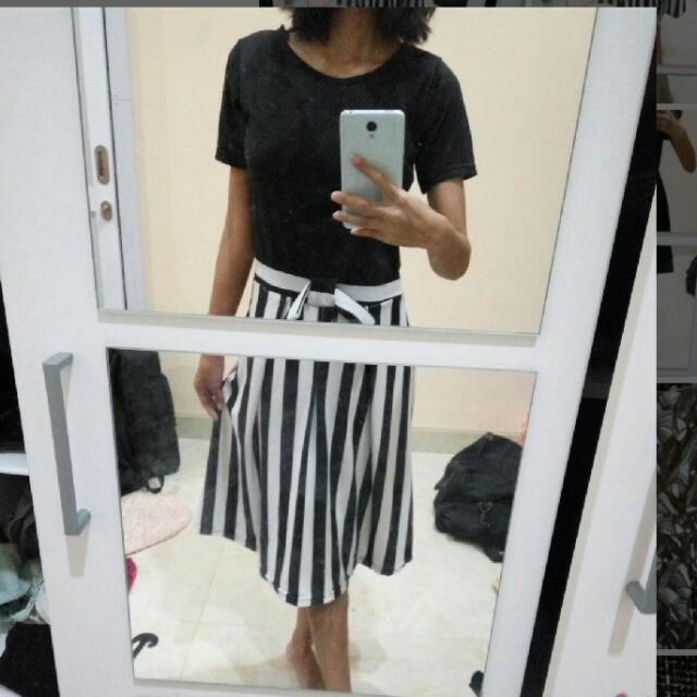 Dress Black & White