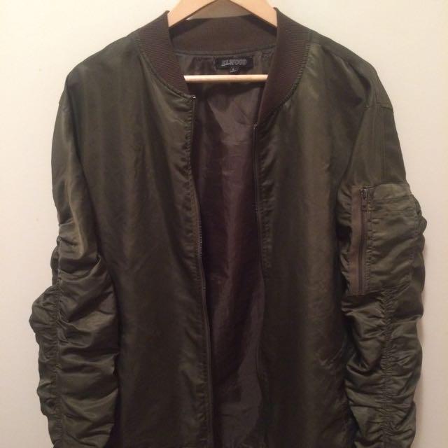 Elwood Bomber Jacket - Large