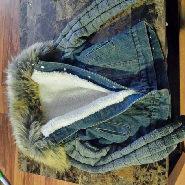 Fall Jean Jacket