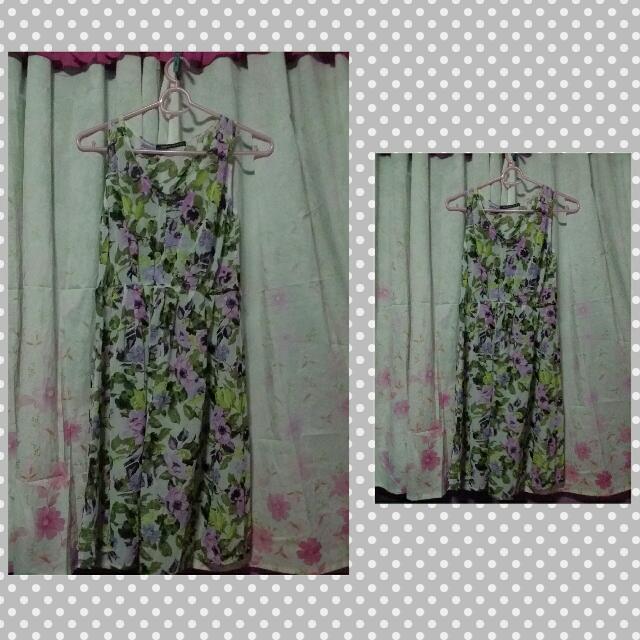 Floral Beach Long Dress