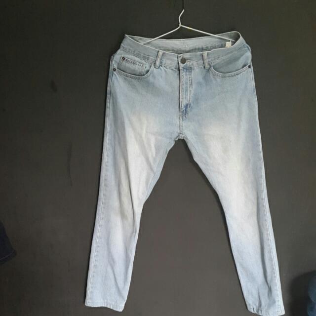 Giordano Jeans Slim Fit Ukuran 29 / 30