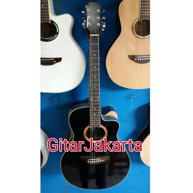 Gitar Akustik Elektrik Yamaha Hitam Equalizer Murah Jakarta Musik Media Alat Di Carousell