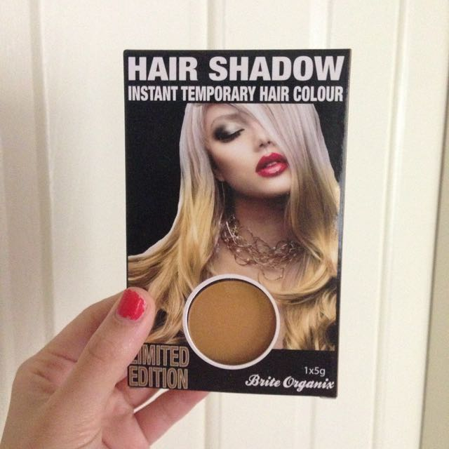 Gold Temporary Hair Colour Chall