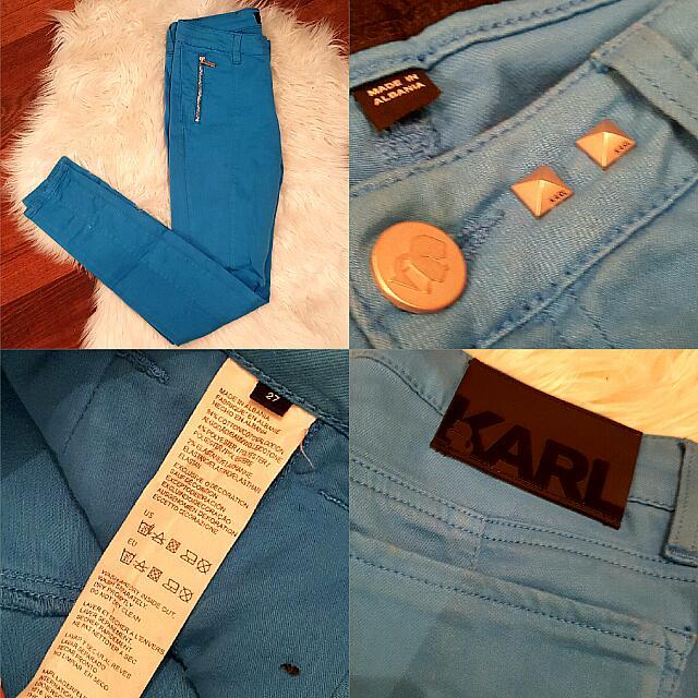 Karl Lagerfeld Blue Denim  size 27