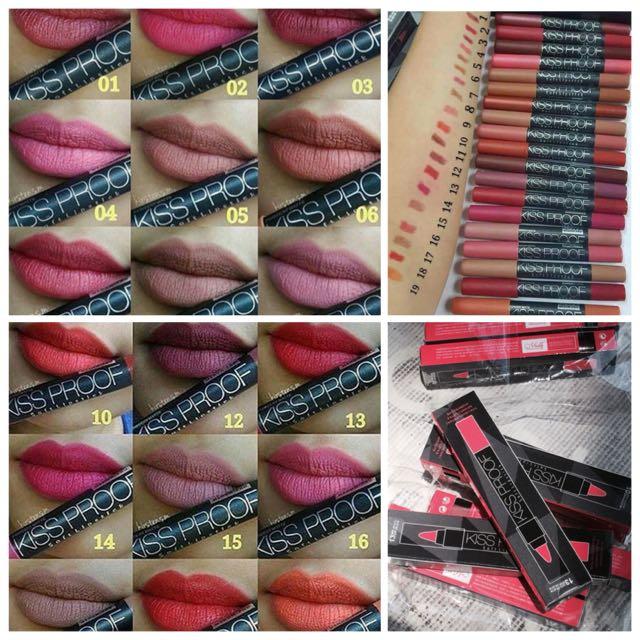 Kissproof Lipstick