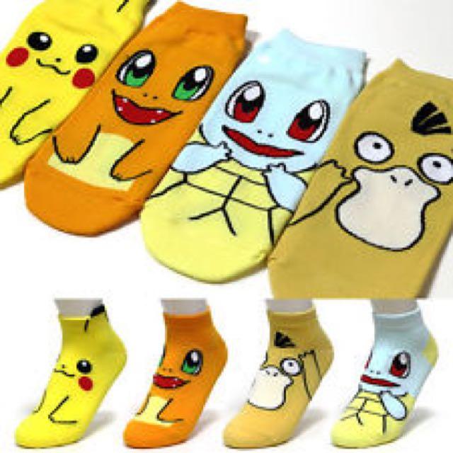 Korean Pokemon socks