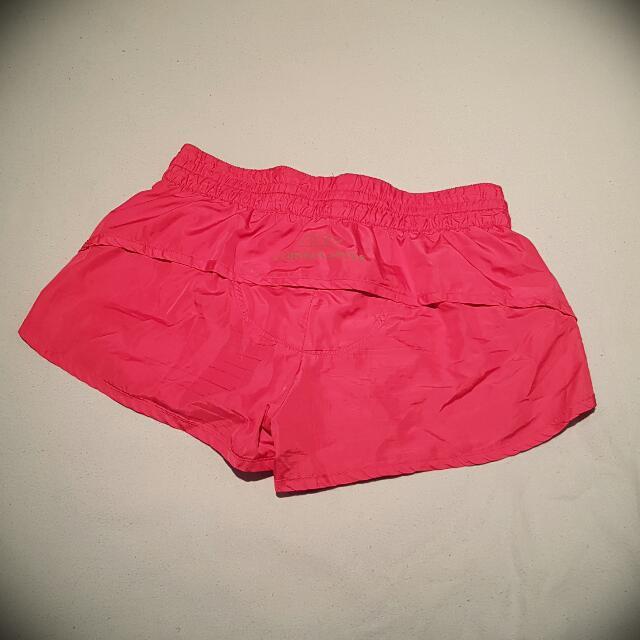 LORNA JANE Running Shorts W Hidden Zipper Pocket SIZE XS