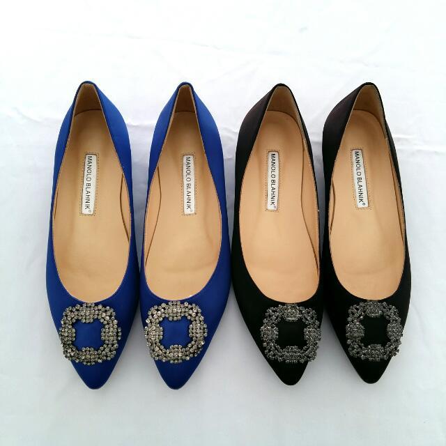 Mano** Blahnik Flat Shoes