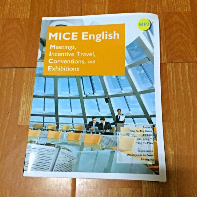 MICE English: Meetings, Incentive Travel, Conventions, and Exhibitions (菊8開+MP3) (With No Answer Key /  無附解答)